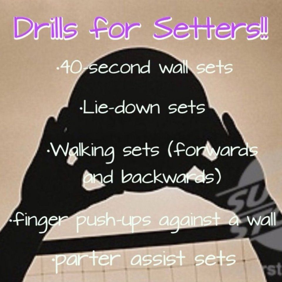 Made This For All Of My Fellow Setters Workout Fitness Bodytransformation In 2020 Volleyball Workouts Volleyball Setter Volleyball Practice