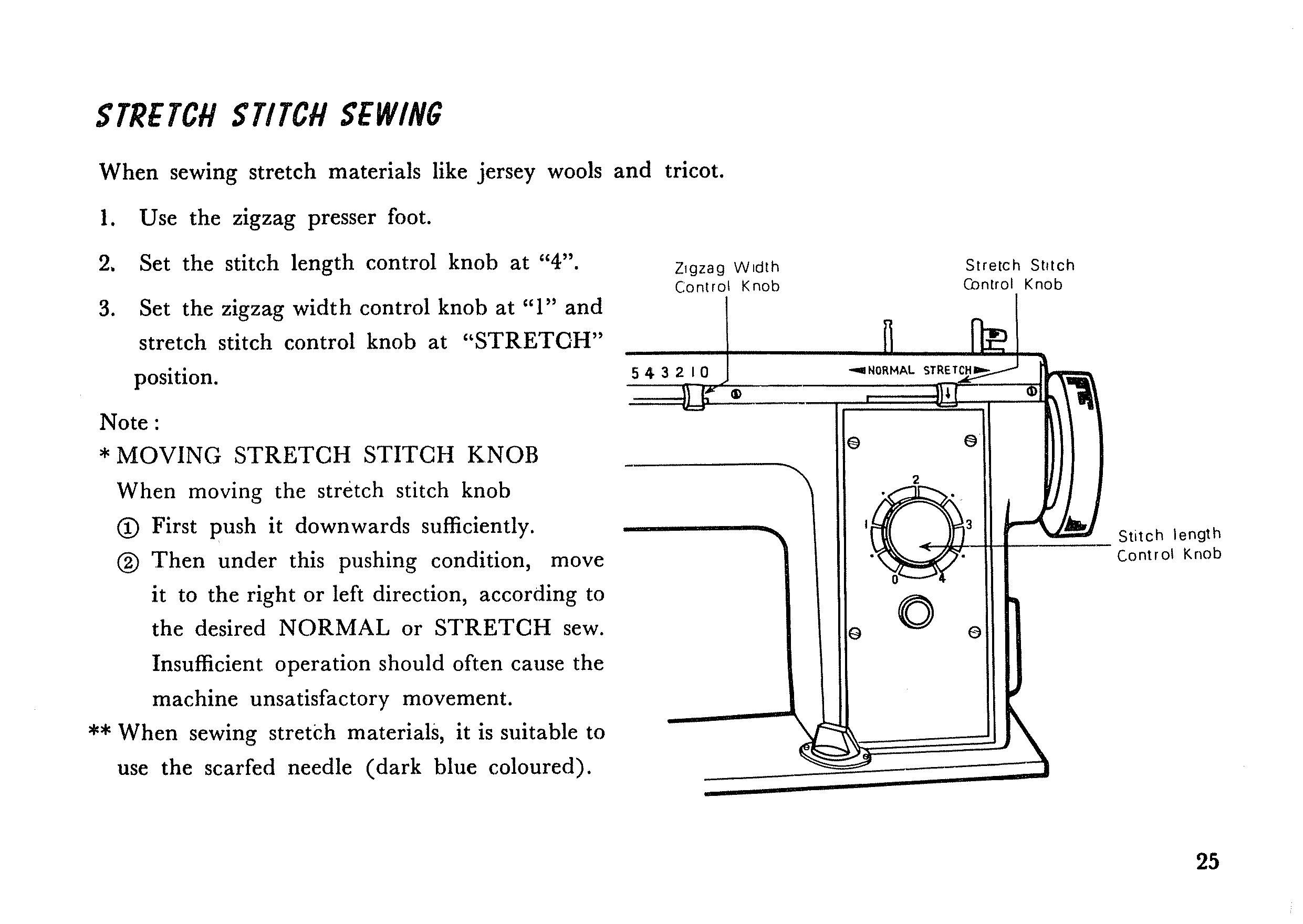 New Home 539 Sewing Machine Owner's Manual