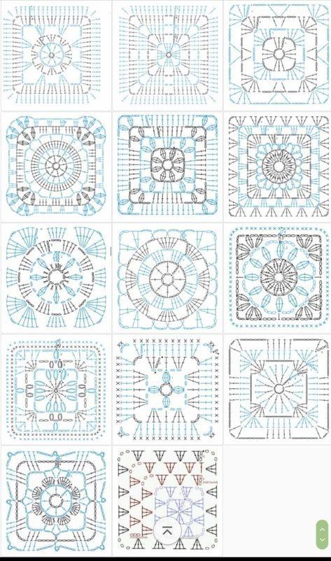 100 Crochet Symbols and   TEJIDOS en 2018   Pinterest   Ganchillo ...