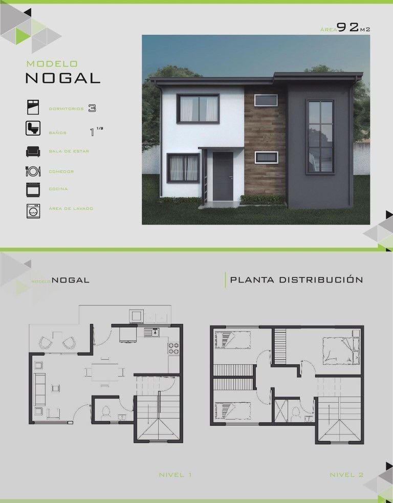 Modelos y dise os de casas de dos pisos costa rica for Disenos de casas modernas de dos pisos