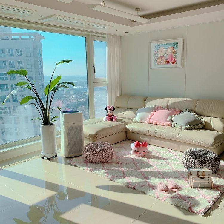 pinur loving glare on home  home room design korean