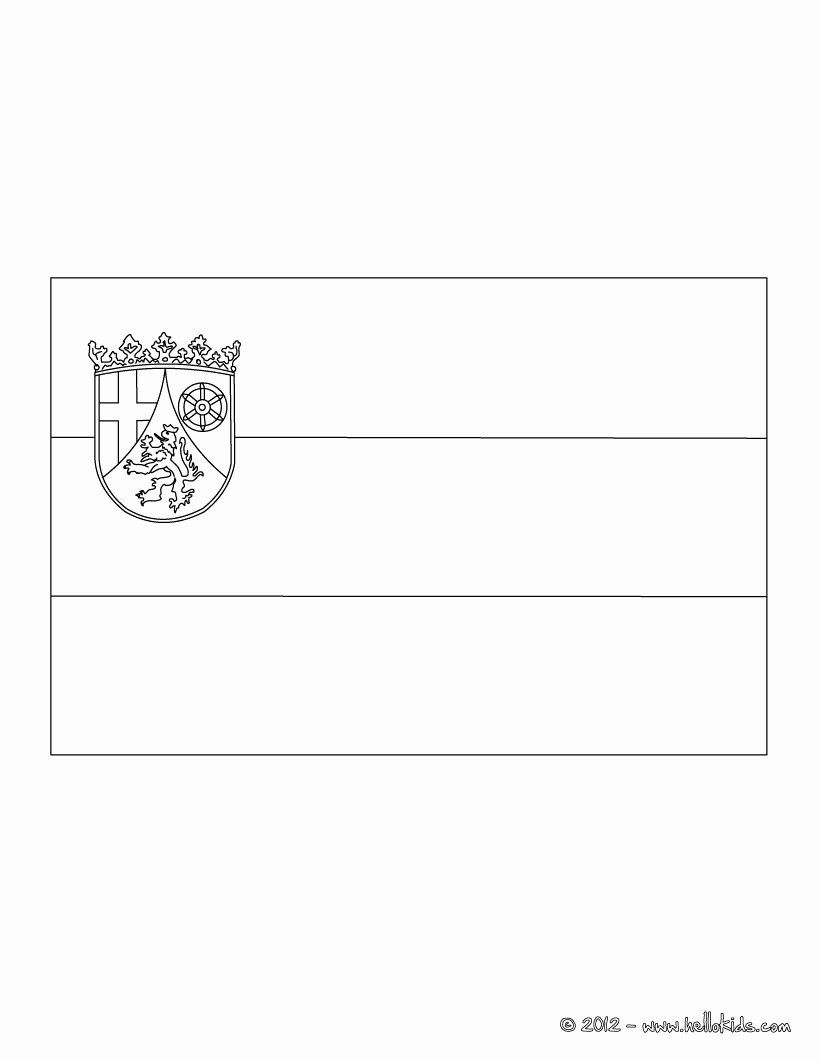 German Flag Coloring Page Inspirational Flag Of Rhineland Coloring Pages Hellokids Flag Coloring Pages Different Country Flags Germany Flag