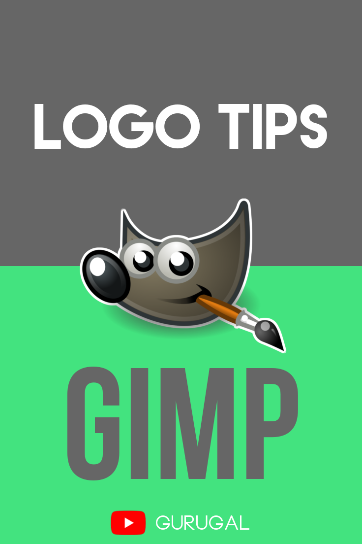 Create beautiful logos in Gimp. Learn what can take your
