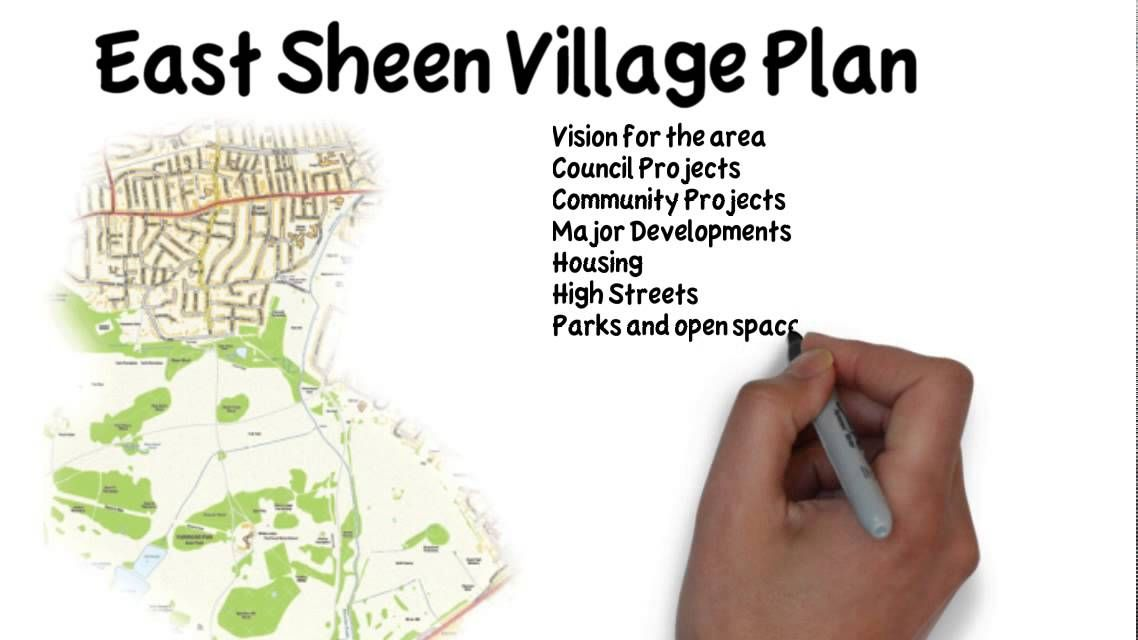 Here's a little video explaining about the East Sheen Village Plan - and how you can get involved!