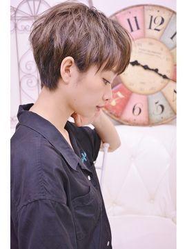 2017画像 かっこいい女子のショートヘア 髪型カタログ Naver