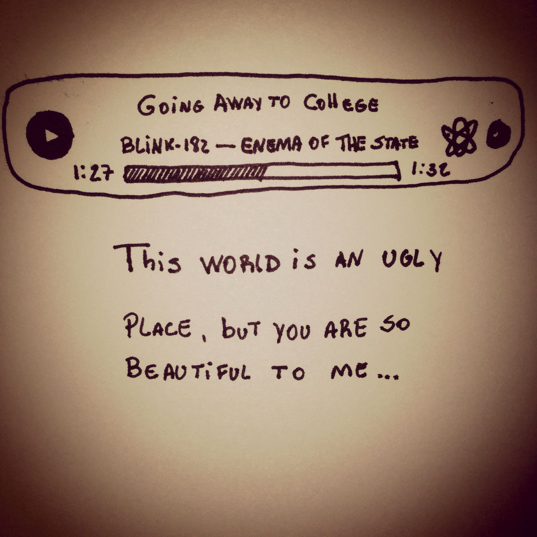 Going Away to College - Blink-182 | Blink 182 | Pinterest | Blink ...