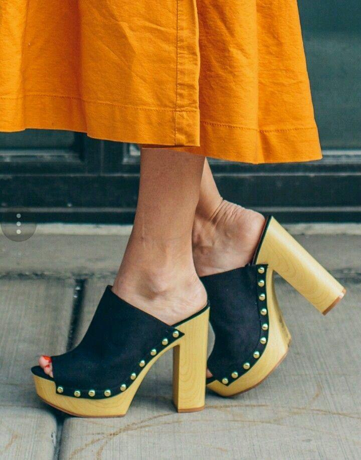 26ceb2bec392f Pin von Lisa182 auf Zoccoli   Schuhe und Stiefel