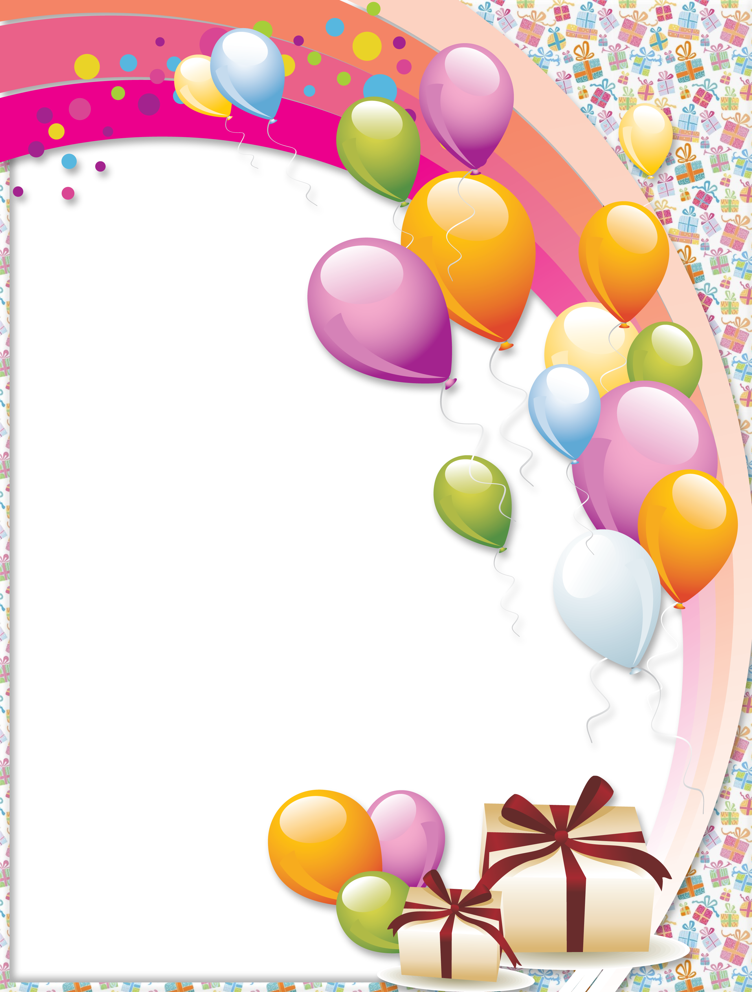 Transparent Birthday Frame | Gallery Yopriceville - High-Quality ...