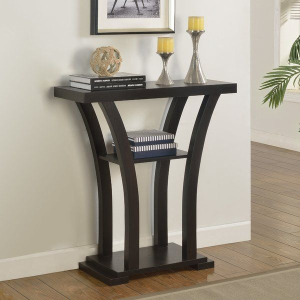 Zipcode Design Jacquelyn Console Table Glass tray, Console tables
