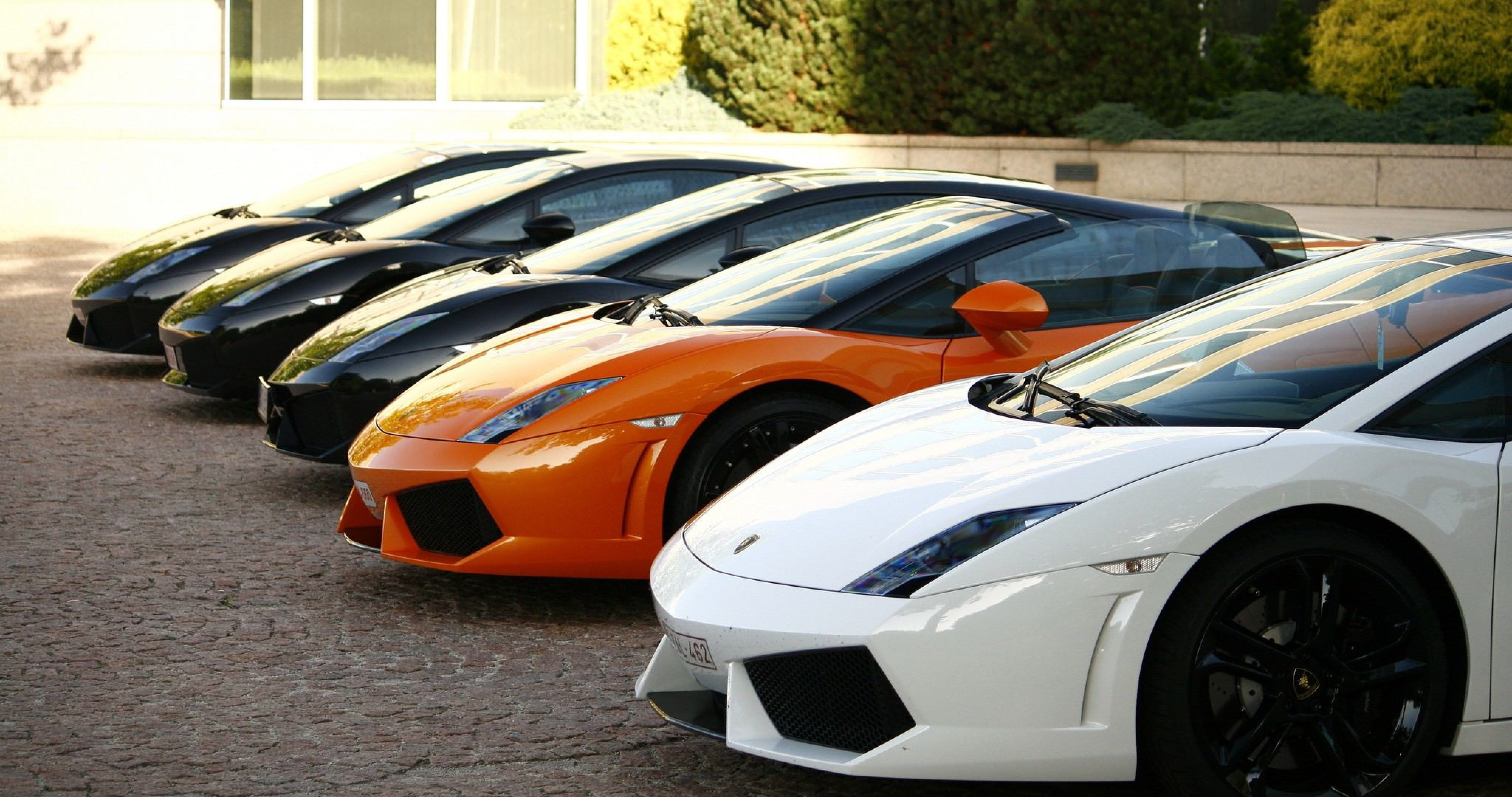 Lamborghini In All Colors 4k Ultra Hd Wallpaper