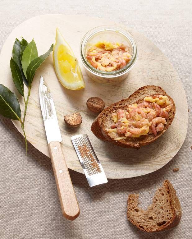 Terrine de crevettes grises aux épices pour 4 personnes - Recettes Elle à Table