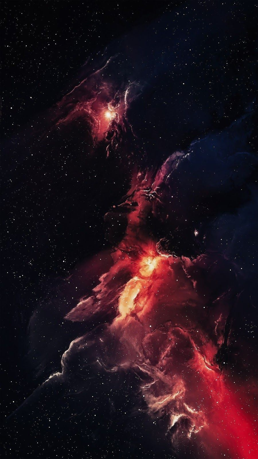 Red Space Red Space Wallpaper Space Space Artwork