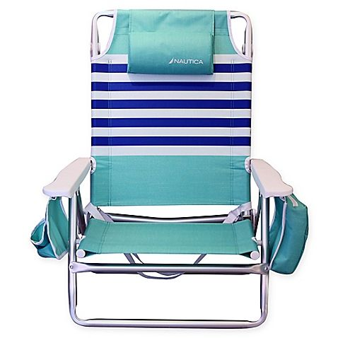 Superb Nautica 5 Position Beach Chair Beach Houses Beach Gmtry Best Dining Table And Chair Ideas Images Gmtryco