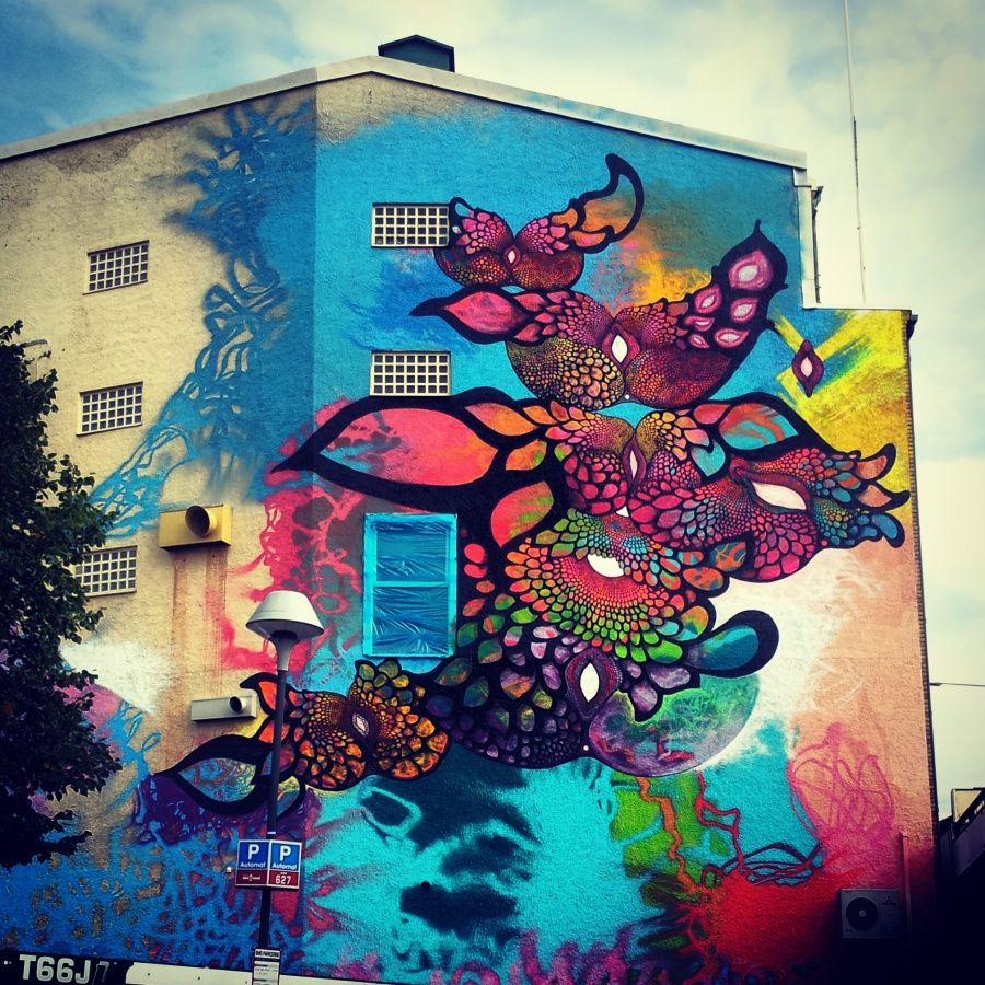 Carolina falkholt art pinterest street art street and murals