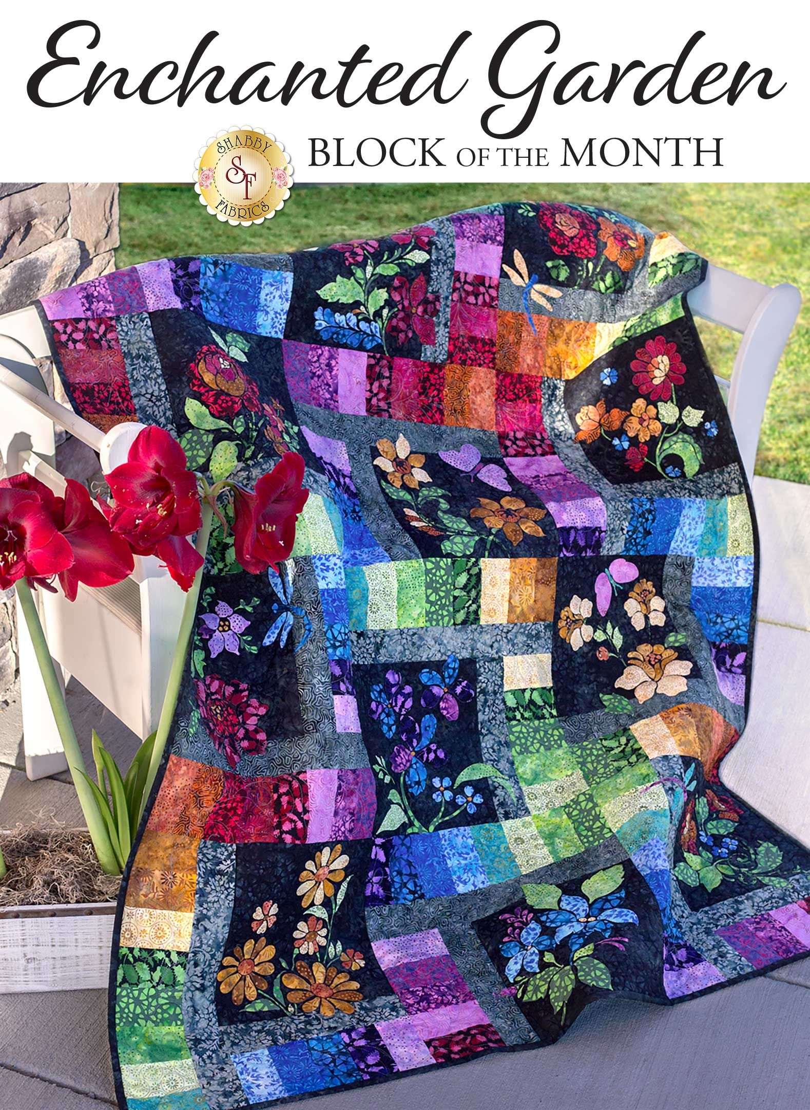 Shabby Fabrics Offers Beautiful Block Of The Month Quilt Programs
