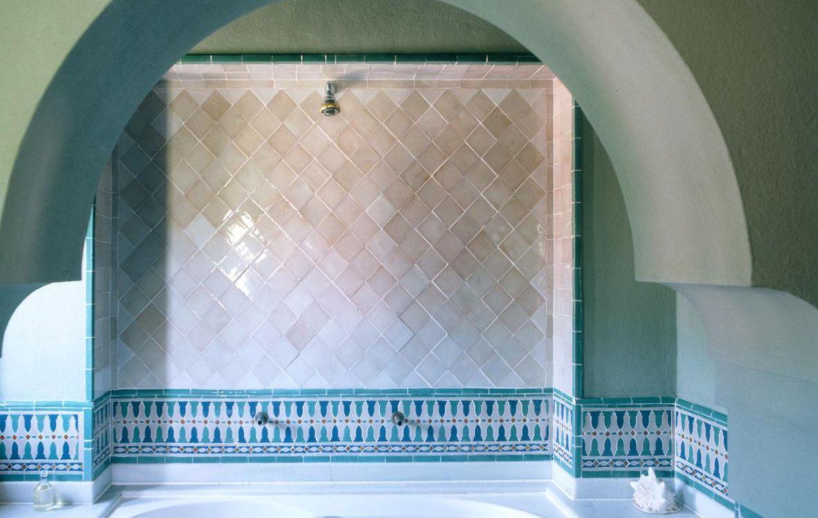Antigua Del Mar Tiles Moorish