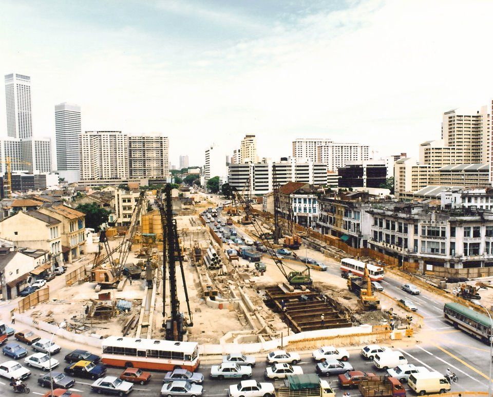 Bugis MRT History of singapore, Singapore photos, Singapore