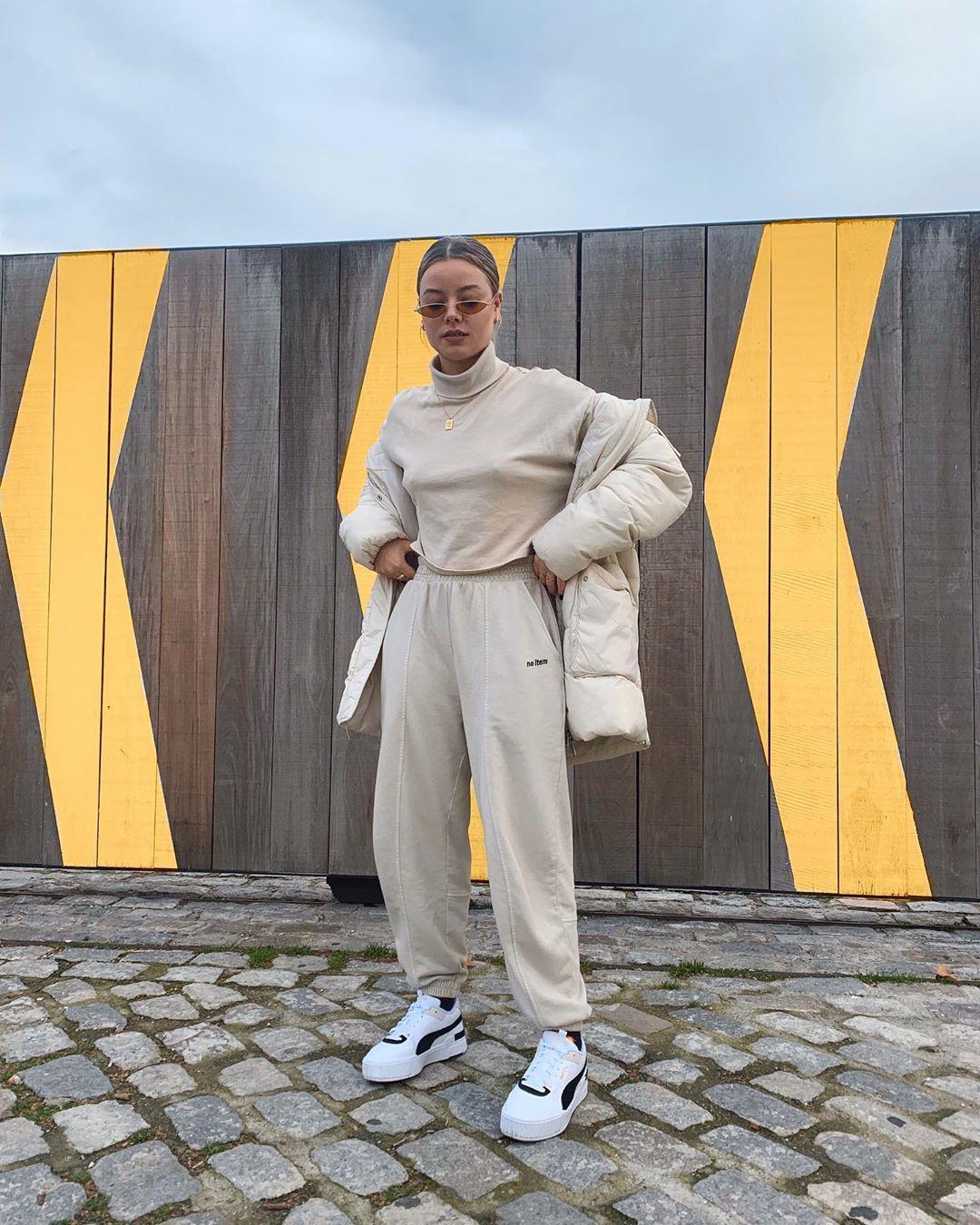 Puma cali, Sport outfits, Stylish outfits