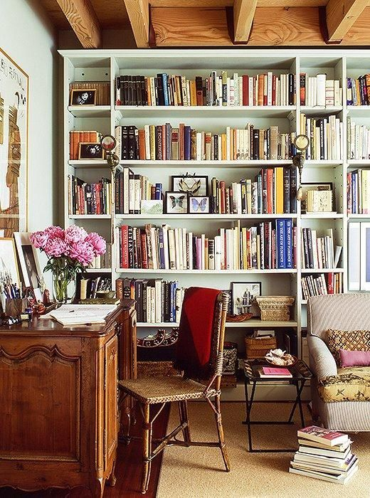 Home Library Decorating Ideas: Discover 6 Ideas For Creating A Petite Home Office