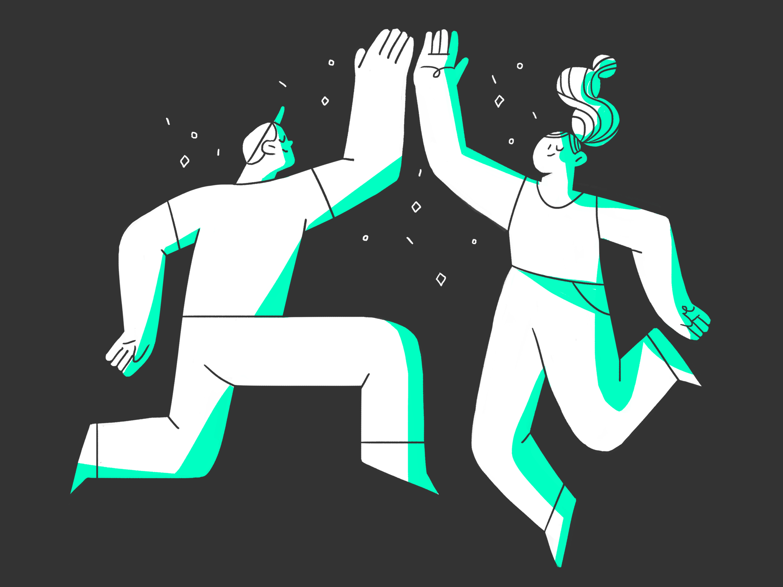 Nailed It By Diana Stoyanova In 2020 Graphic Illustration People Illustration Character Illustration