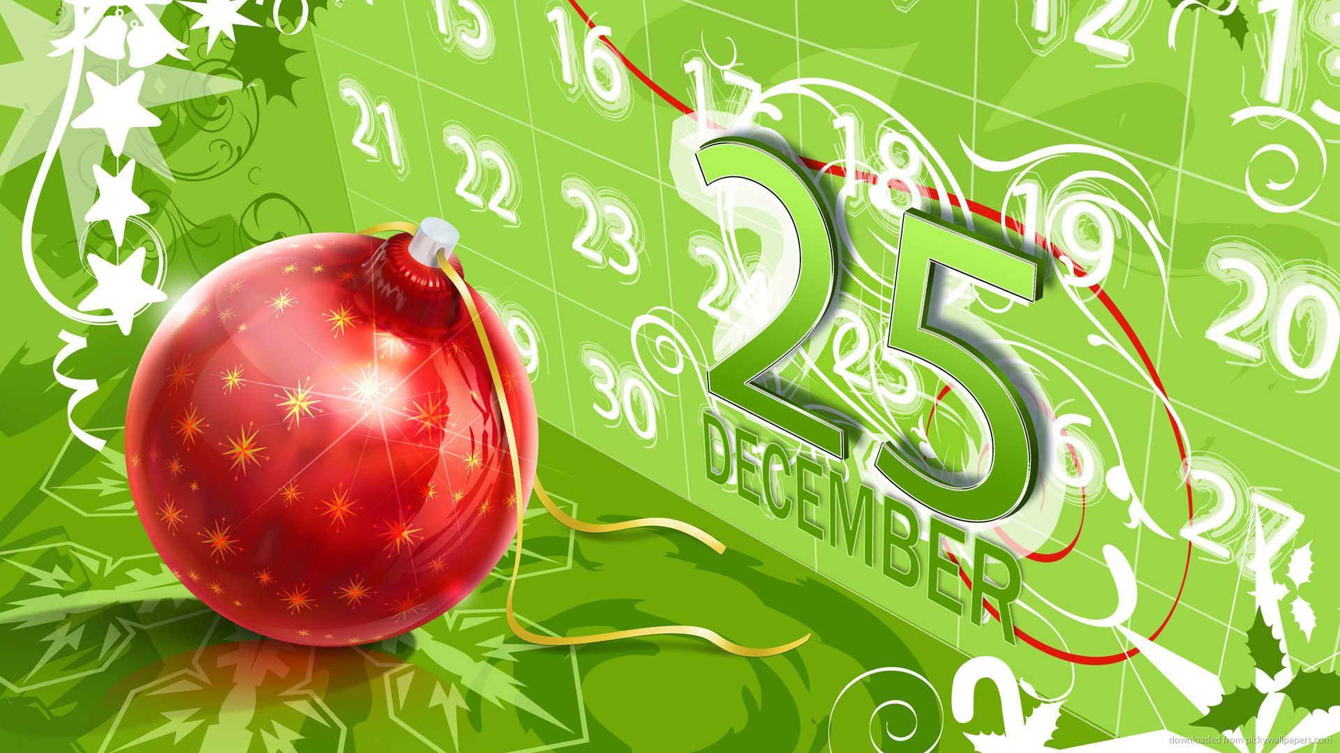 Christmas 25 December Green Picture Christmas Wallpaper Free Christmas Wallpaper Christmas Wallpaper Backgrounds