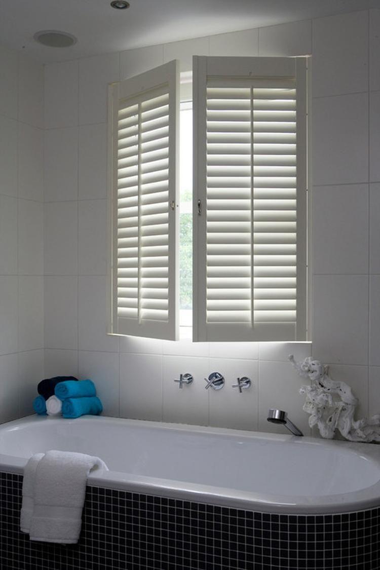 Shutters in de badkamer | badkamer | Pinterest