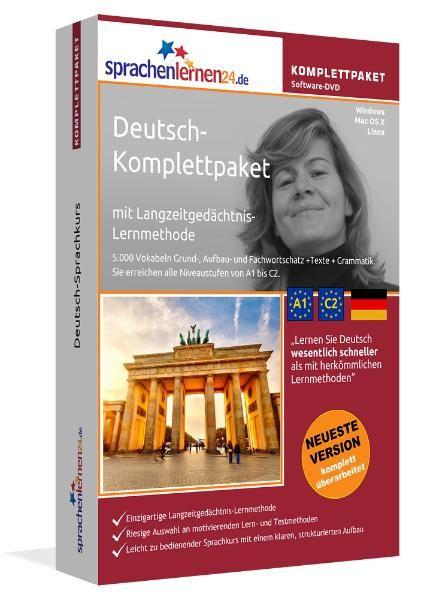 Deutsch lernen für Ägypter Menüführung auf Ägyptisch XXL-Paket