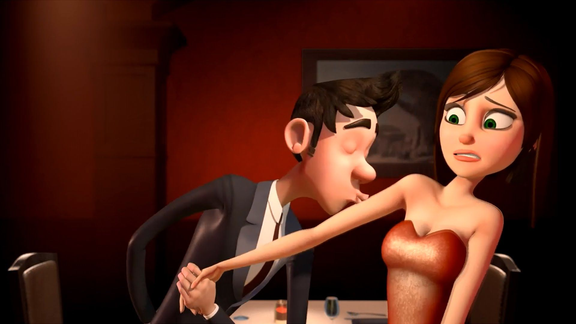 Please Watch This Funny Love Story Brief Film HD CGI Animated Toon