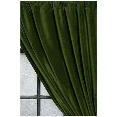 Emerald Green Velvet Curtains Chartreuse Walls Black
