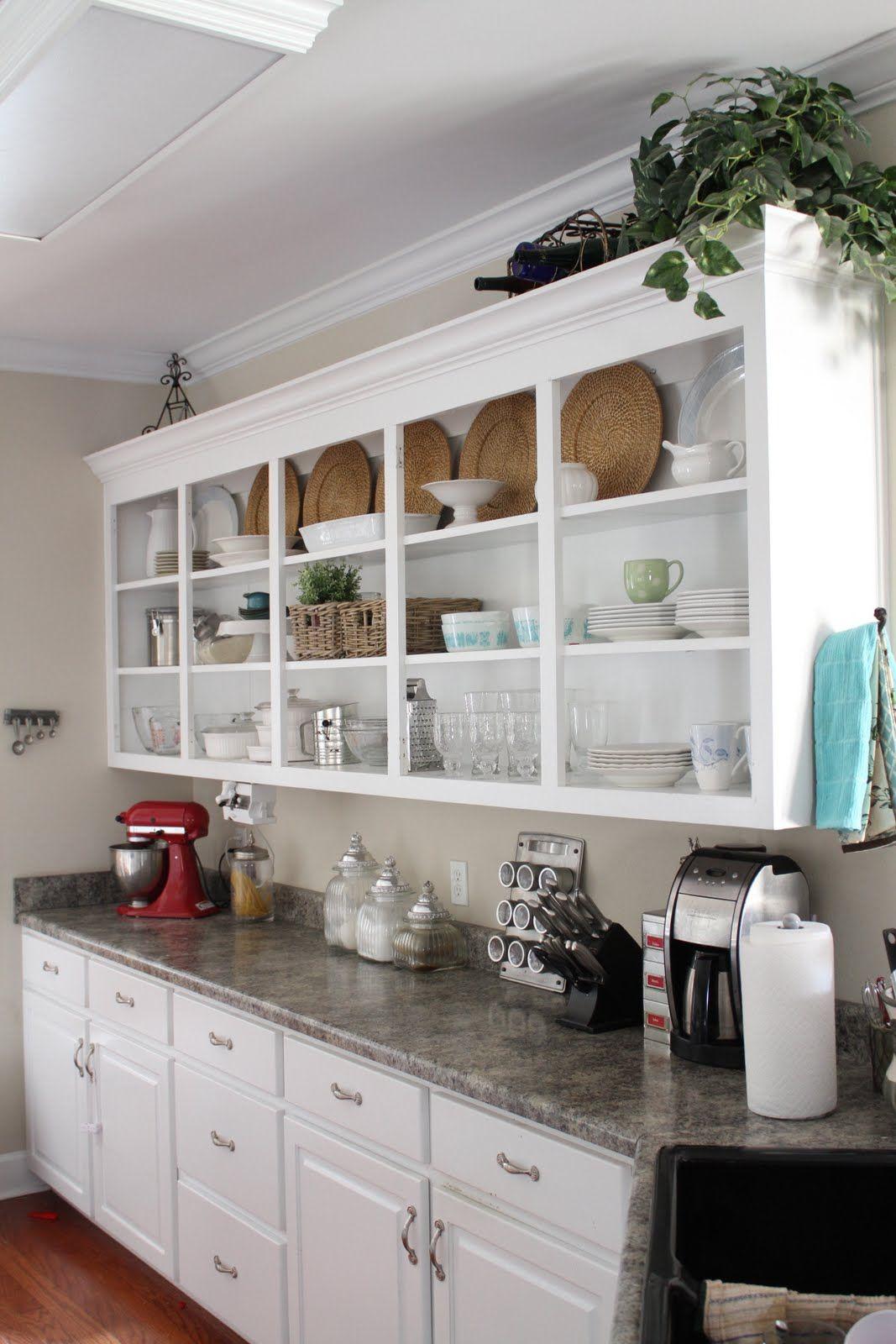 Inspiring Wall Mounted Kitchen Shelves Ideas Open Kitchen Cabinets Kitchen Rack Design Kitchen Cabinet Storage