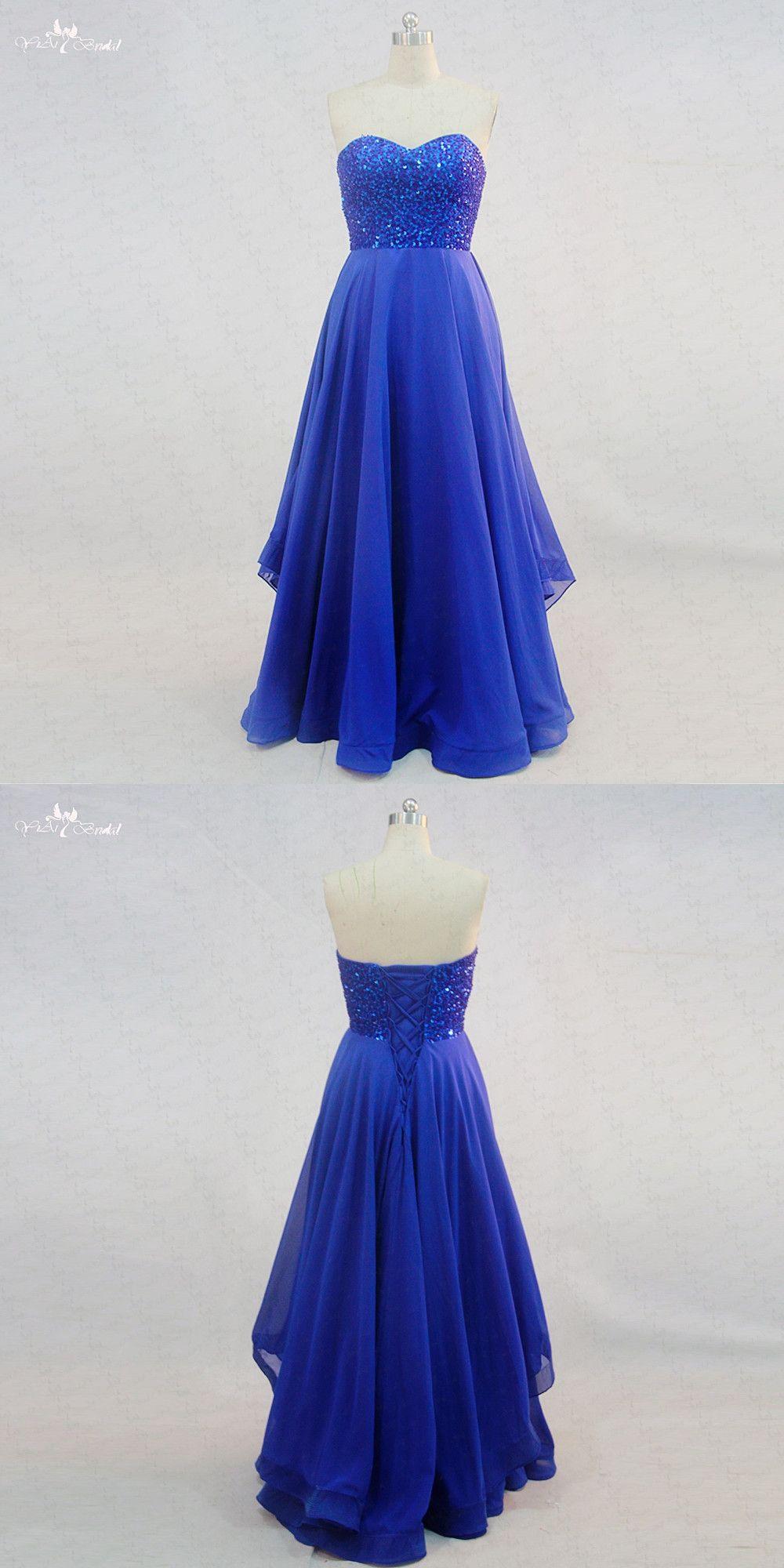 RSE722 Long Beaded Royal Blue Prom Dresses Gradient Dress Graduation Dress  Vestido De Formatura Longo 3f80b5dc8c63