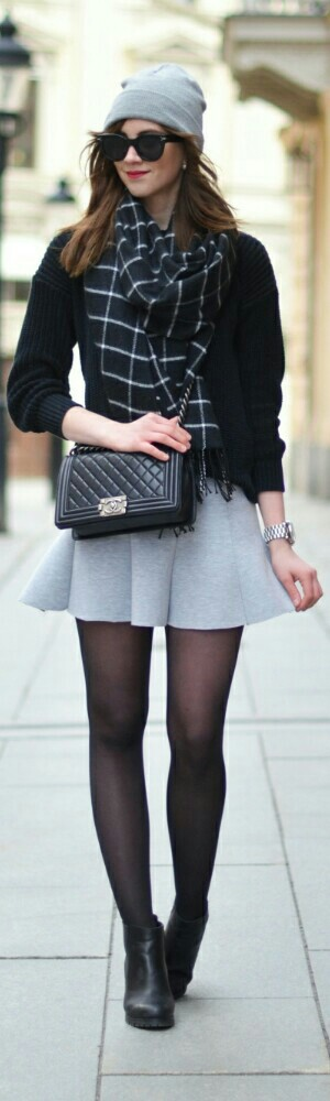 Choies Skirt / Vogue Haus