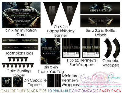 Heres a call of duty black ops diy printable and customizable party heres a call of duty black ops diy printable and customizable party pack and yes filmwisefo Image collections