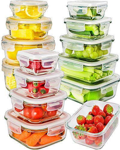 Glass Storage Containers With Lids Glass Food Storage C
