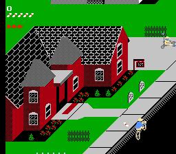 Paperboy - Nintendo NES | Pixel Art Game in 2019 | Nintendo