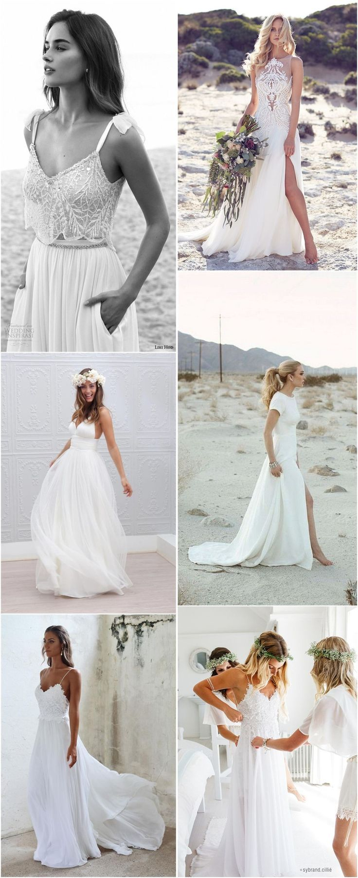 Top beach wedding dresses ideas to stand you out beach wedding