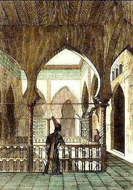 Peinture d 39 alg rie int rieur d 39 une maison mauresque for Interieur algerien