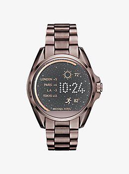 f822f63dac31 Michael Kors Access Bradshaw Sable-Tone Smartwatch by Michael Kors  relojes   michaelkors  reloj  peru