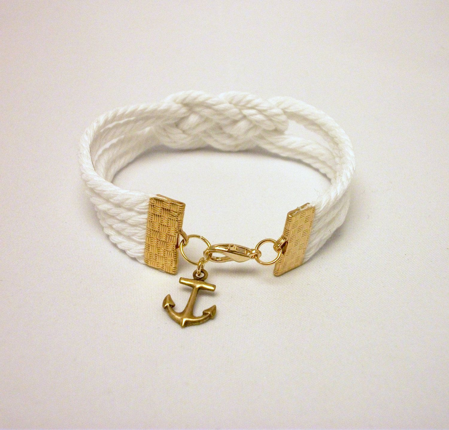bracelet chevron anthropologie inspired diy nautical rope