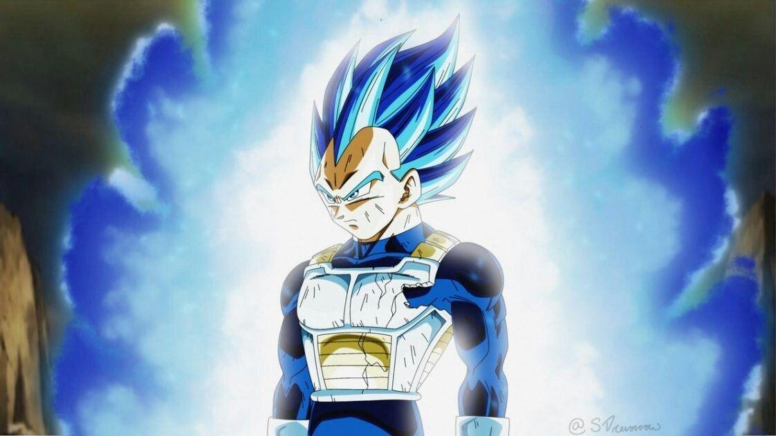 Vegeta Ultra Blue Limit Breaker Dragon Ball Super Dragon Ball Anime Dragon Ball