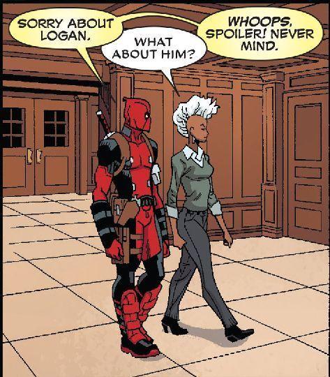 Super Gurl Gegen Deadpool