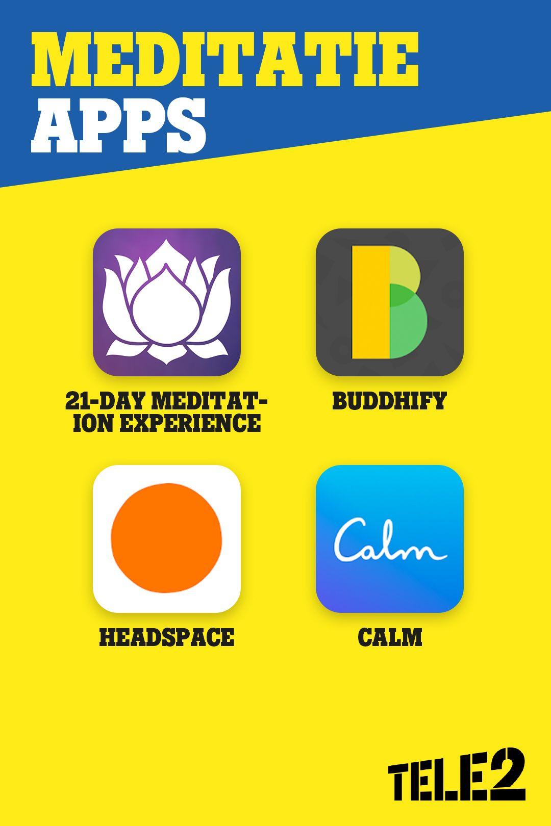 De beste meditatie apps happy mind, happy you App