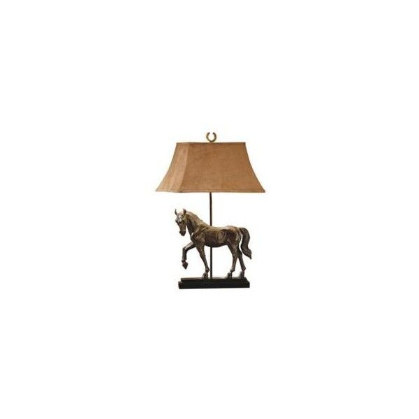 Universal Lighting And Decor Triple Crown Race Horse Table Lamp 185 Liked On