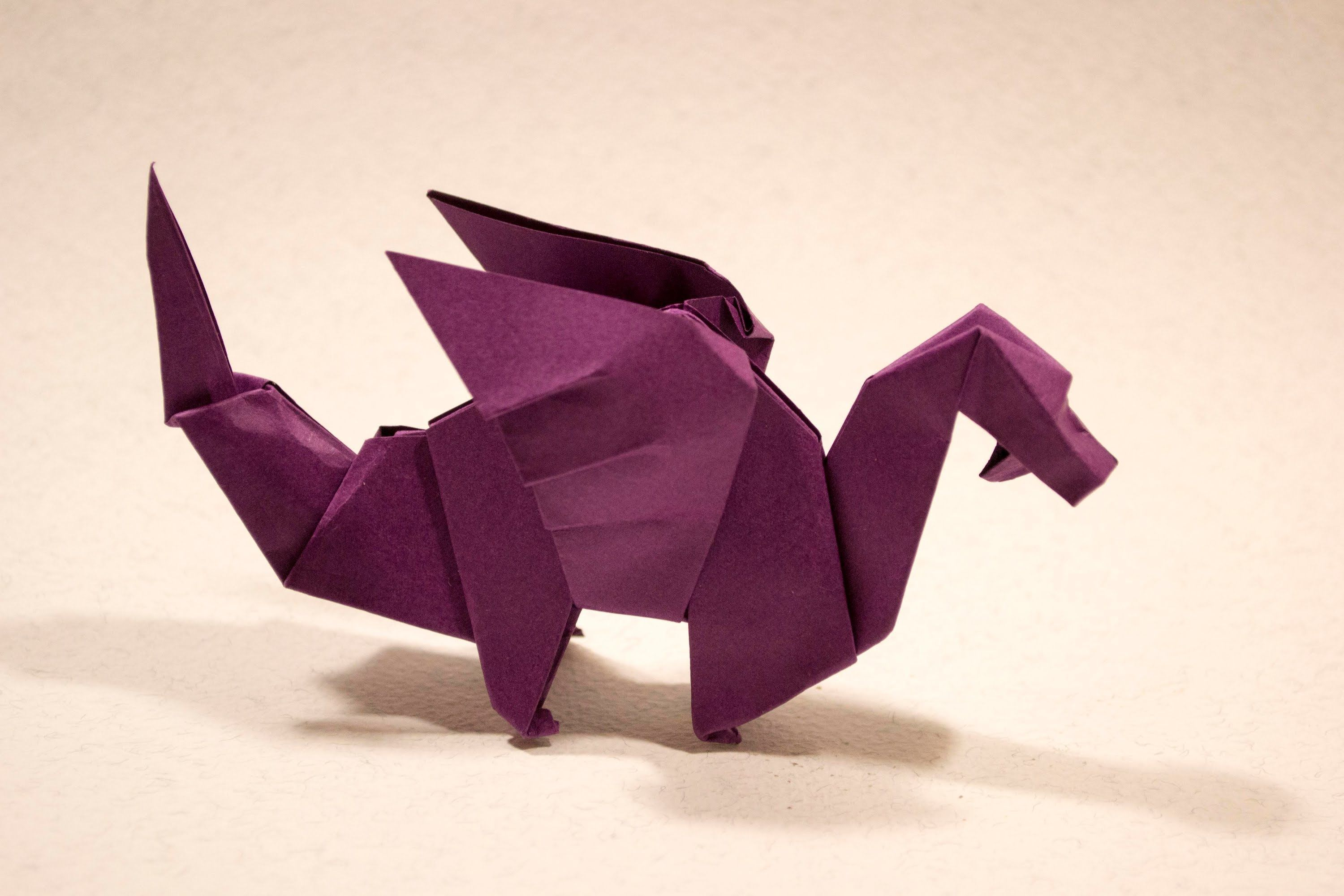 Origami Dragon By Edwin Corrie