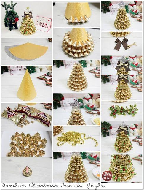 9581505908b Las cosas de May  DIY MANUALIDADES Y DECORACIÓN 10 Sencillos tutoriales  para hacer un arbolito de Navidad