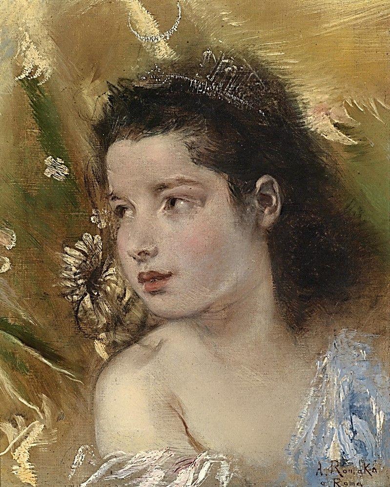 Anton Romako (Wien 1832 1889 ) NIÑOS EN EL ARTE
