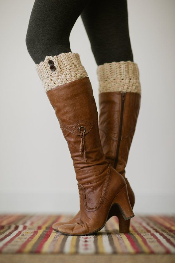 Cantinho da Nadir: Boot Cuffs - Punho de Botas | winter season ...