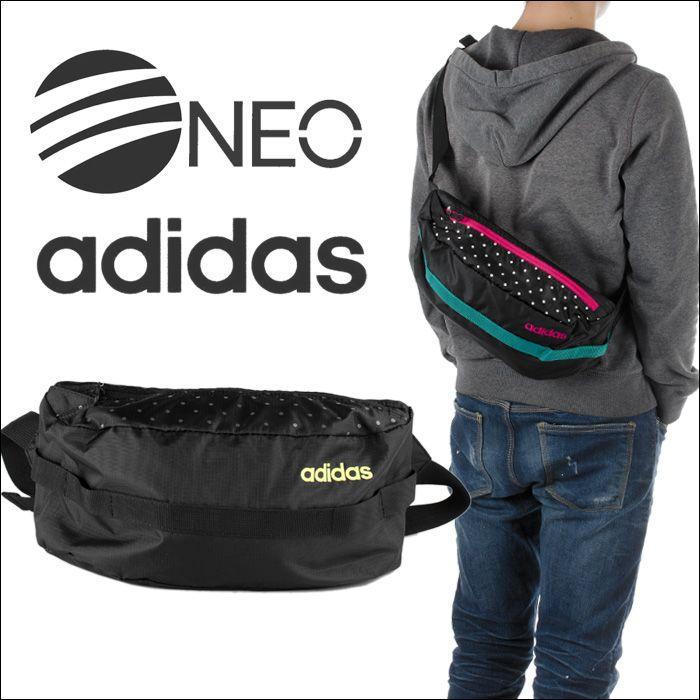 6c661c1a1f6 PLAYERZ | Rakuten Global Market: Adidas Shoulder bag ADIDAS ' one-shoulder  hip bag mens ladies its ADIDAS NEO Shoulder bag fashion school