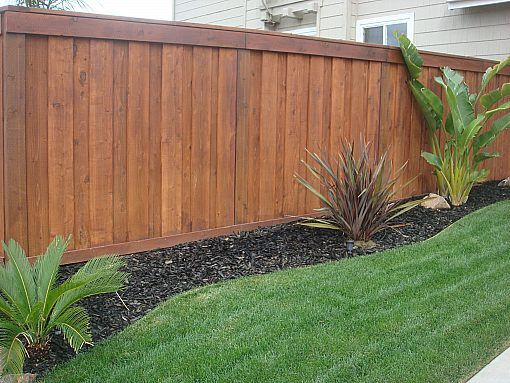 Redwood Fencing Style Choices From Backyard Fences Landscaping