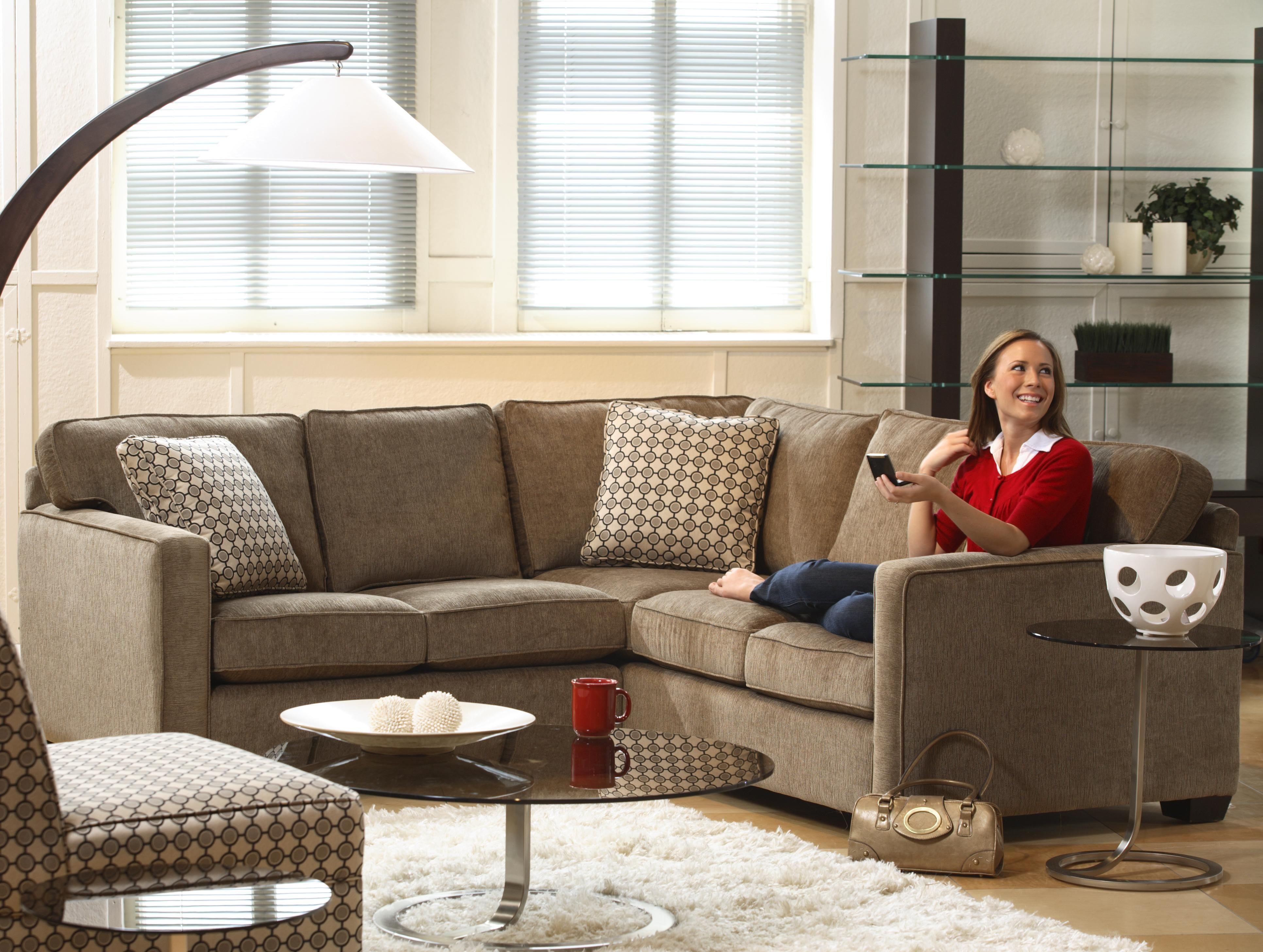 Lyric five seat sectional sofa